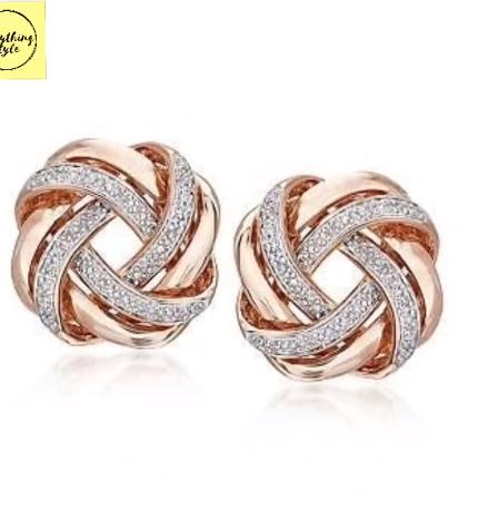 Classy Gold Hoop Earrings Designs11