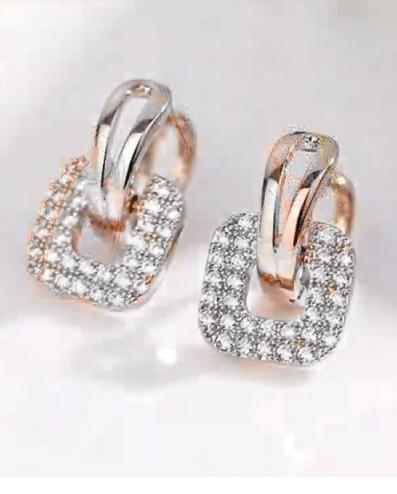 Classy Gold Hoop Earrings Designs14