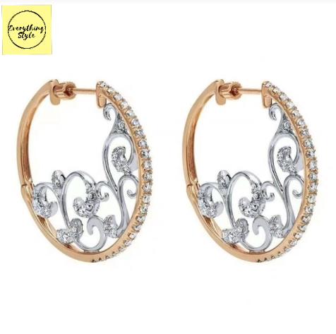 Classy Gold Hoop Earrings Designs4