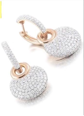 Classy Gold Hoop Earrings Designs9