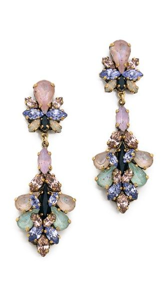 Multi-Coloured Diamond Earrings10