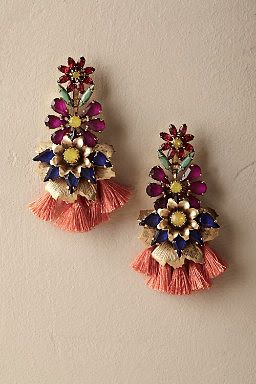 Multi-Coloured Diamond Earrings9