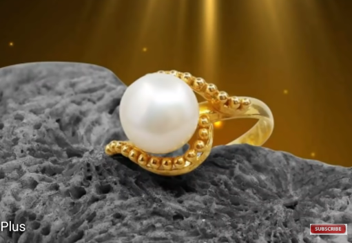 Sea Pearl Gold Ring Design1