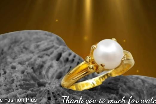 Sea Pearl Gold Ring Design13