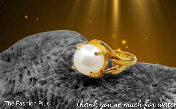 Sea Pearl Gold Ring Design14