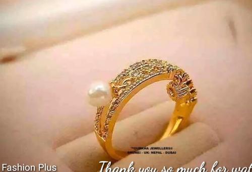 Sea Pearl Gold Ring Design15