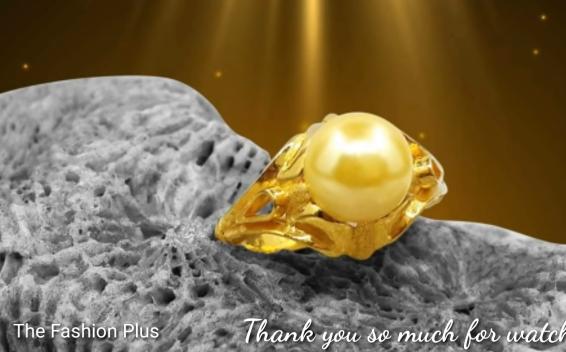 Sea Pearl Gold Ring Design17
