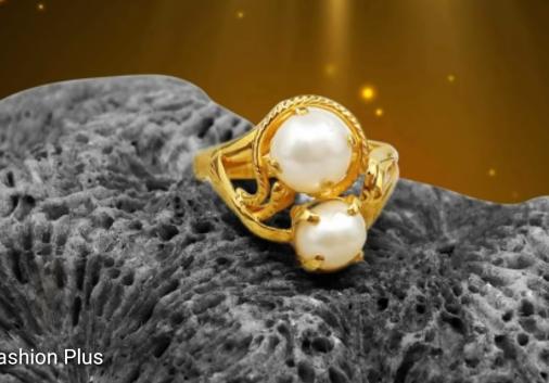 Sea Pearl Gold Ring Design5