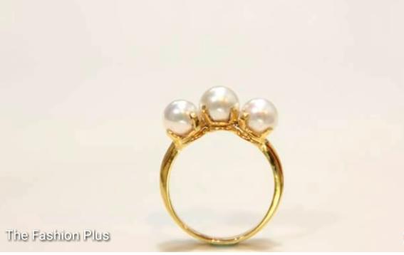 Sea Pearl Gold Ring Design8