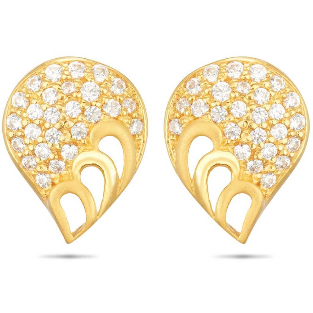 drop shaped earring design