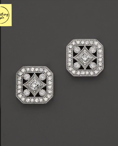 Beautiful Gold Stud and Earring Designs10