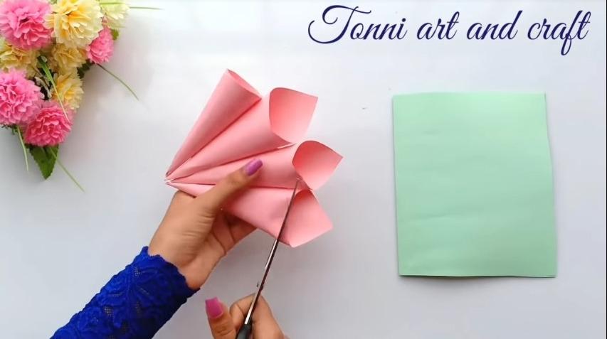 cutting the cones edges
