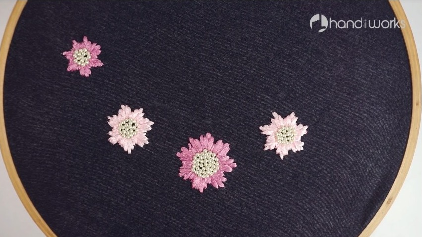 stitching more flowers