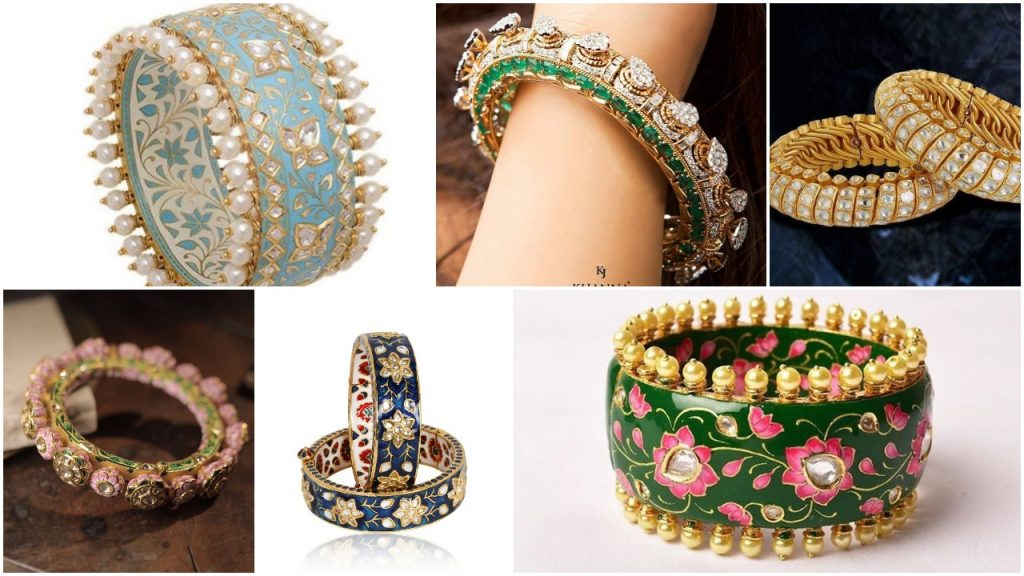 Bridal Bangle Designs