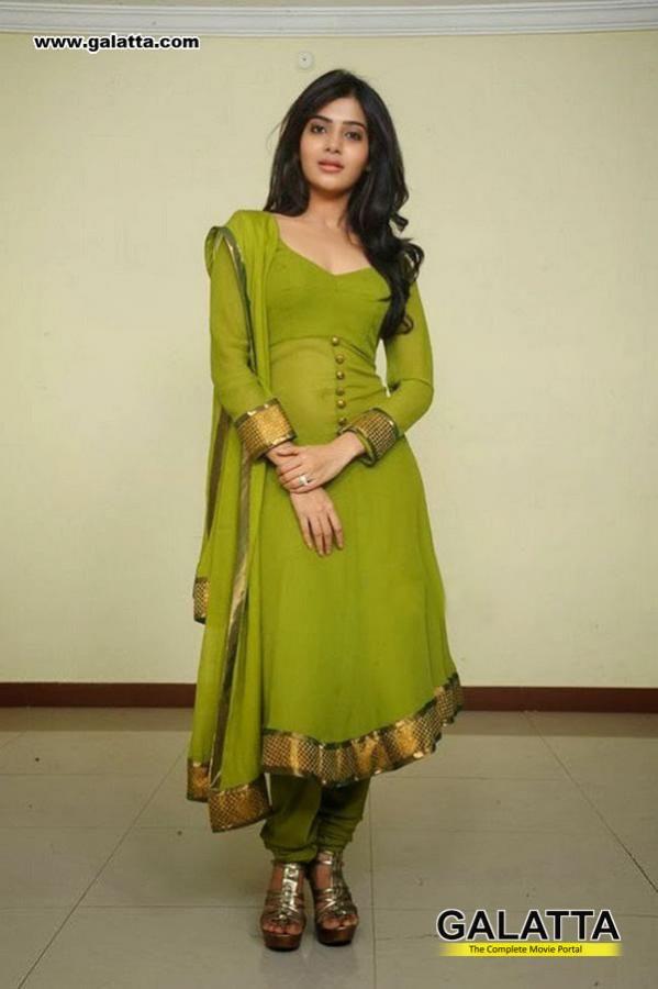 green kurti design