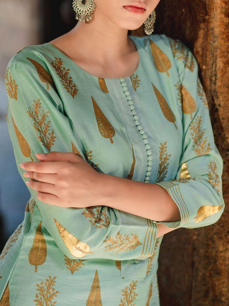 simple and elegant kurti design