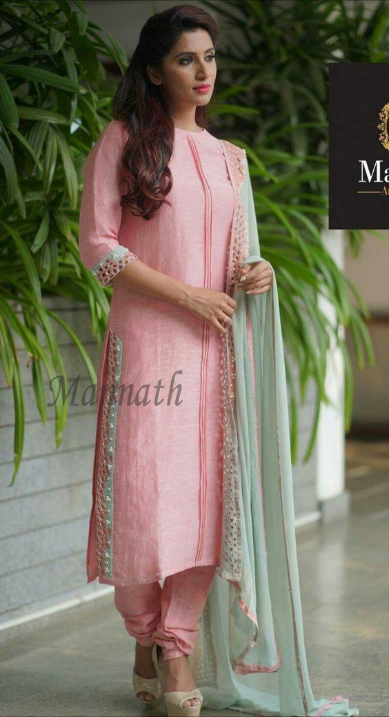 rose designer kurti