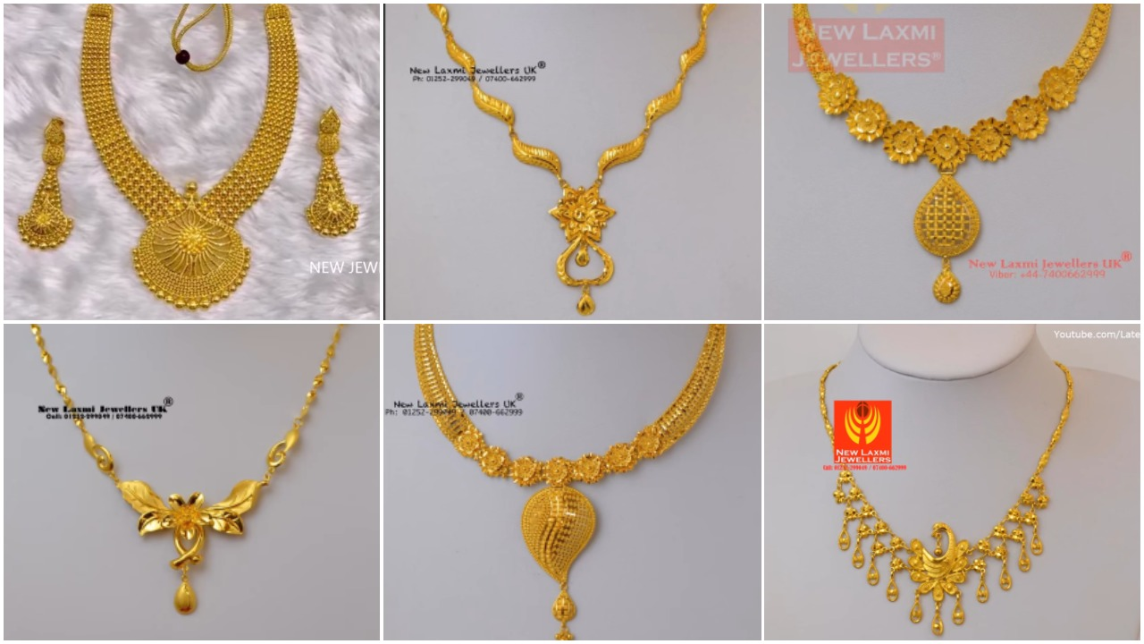 Gold Necklace for Women Under 10 Grams