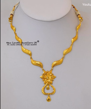 Gold Necklace for Women Under 10 Grams1