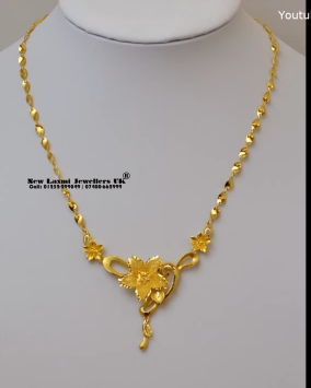 Gold Necklace for Women Under 10 Grams10