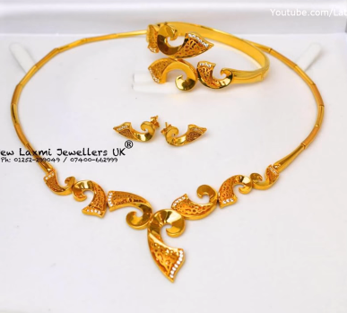 Gold Necklace for Women Under 10 Grams11