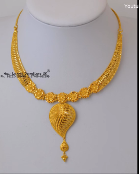 Gold Necklace for Women Under 10 Grams2