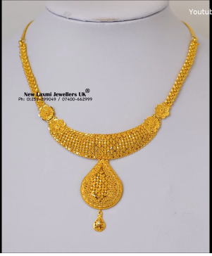 Gold Necklace for Women Under 10 Grams7