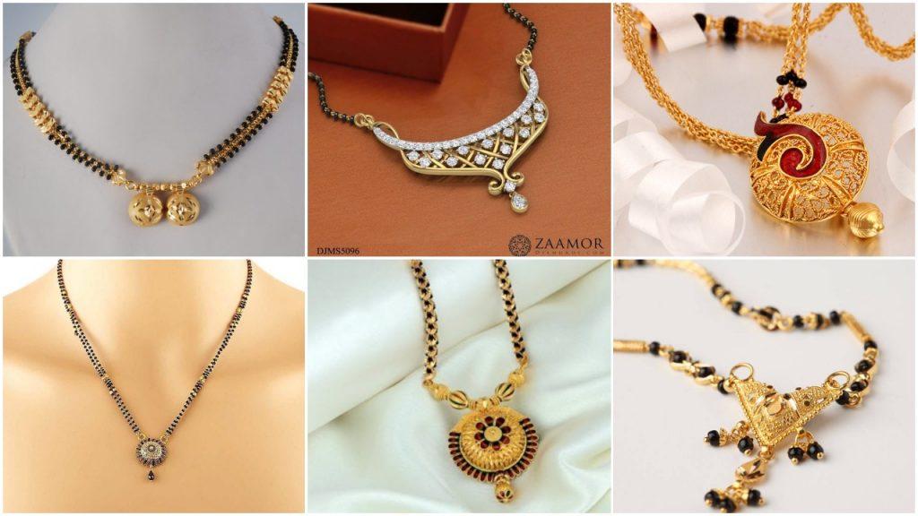 Latest Beautiful Gold Long Mangalsutra Designs