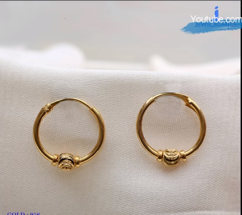 Latest Daily Wear Gold Earring Designs17
