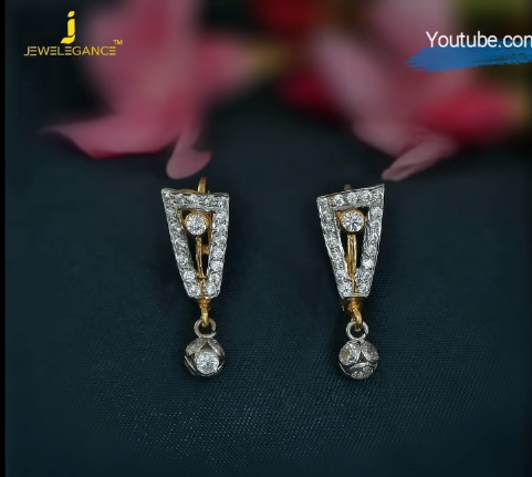 Latest Daily Wear Gold Earring Designs18