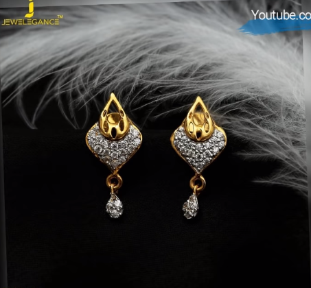Latest Daily Wear Gold Earring Designs19
