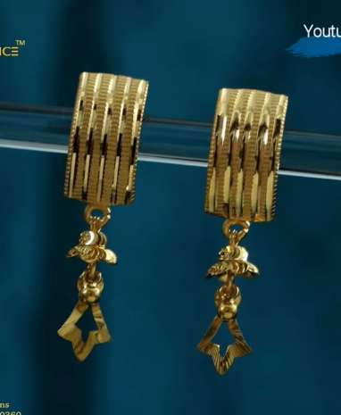 Latest Daily Wear Gold Earring Designs21
