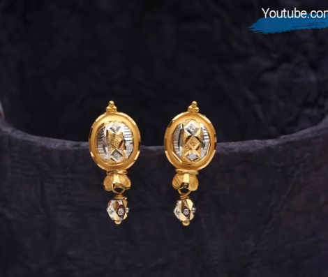 Latest Daily Wear Gold Earring Designs4