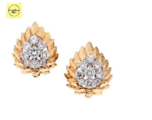 Latest Daily Wear Gold Stud Earring Designs1