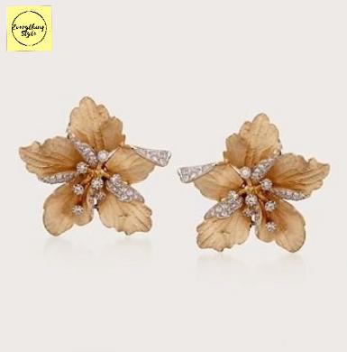 Latest Daily Wear Gold Stud Earring Designs12