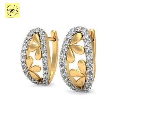 Latest Daily Wear Gold Stud Earring Designs19