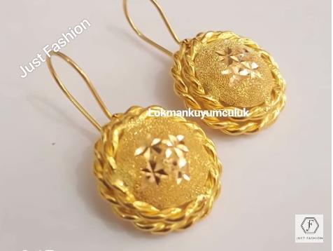 Latest Designer Gold Earrings Designs10