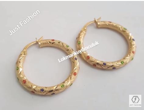 Latest Designer Gold Earrings Designs11