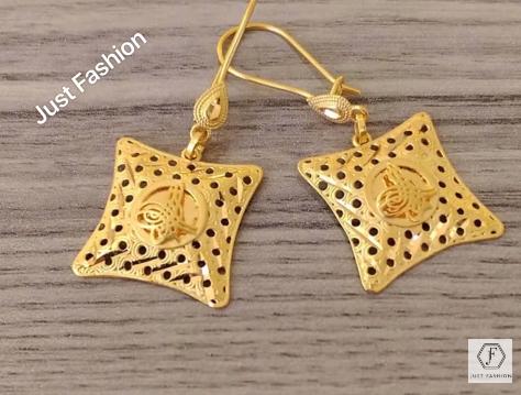 Latest Designer Gold Earrings Designs5