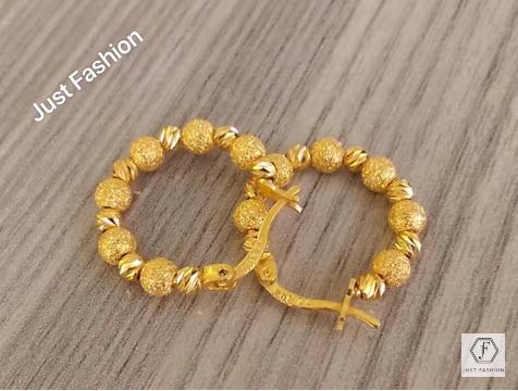 Latest Designer Gold Earrings Designs6