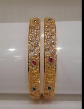 Latest Gold Bangle Designs20