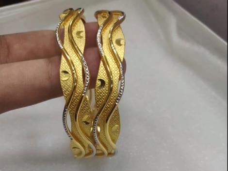 Latest Gold Bangle Designs3