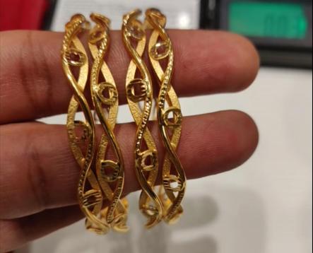 Latest Gold Bangle Designs6