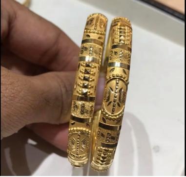 Latest Gold Bangle Designs7
