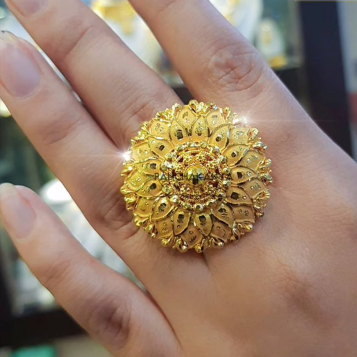 Latest Gold Ring Designs25