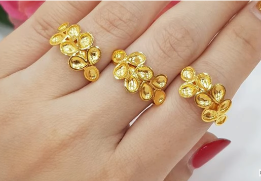 Latest Gold Ring Designs7