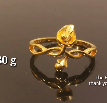 Latest Light Weight Gold Ring Designs10
