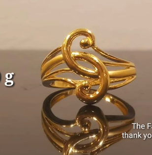 Latest Light Weight Gold Ring Designs13