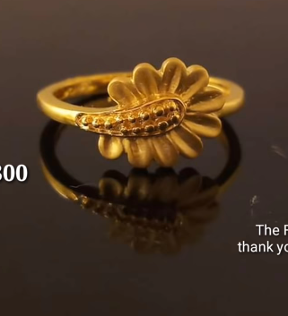 Latest Light Weight Gold Ring Designs14
