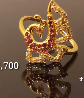 Latest Light Weight Gold Ring Designs16